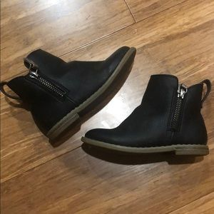Black Ankle Boots (Toddler)